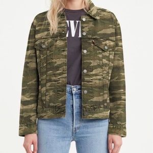 Levi's Camo Denim Jacket NWT
